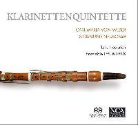 ENSEMBLE LES ADIEUX, ERICH HOEPRICH (KLARINETTE) - MOZART: KLARINETTENQUARTETTE (SACD)