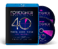 FOREIGNER - Double Vision: Then And Now (Blu-ray+CD)