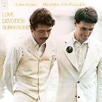 SANTANA, CARLOS / MCLAUGHLIN, JOHN - LOVE DEVOTION SURRENDER (CD)