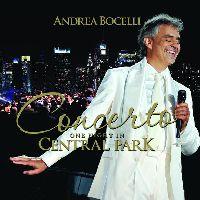 Bocelli, Andrea - Concerto: One Night In Central Park (CD, Box)