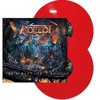 ACCEPT - The Rise Of Chaos (Red Vinyl)