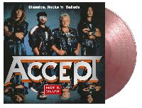 ACCEPT - Hot & Slow - Classics, Rock 'N' Ballads (Silver & Red Marbled Vinyl)