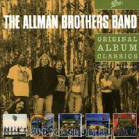 Allman Brothers Band, The - Original Album Classics (Seven Turns / Shades Of Two Worlds / An Evening With The Allman Brothers Band: First Set / Where It All Begins / An Evening With The Allman Brothers Band: 2nd Set) (СD)