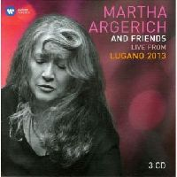 ARGERICH, MARTHA - MARTHA ARGERICH & FRIENDS: LIVE FROM LUGANO 2013 (CD)