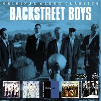 Backstreet Boys - Original Album Classics (BACKSTREET BOYS / MILLENNIUM / BLACK & BLUE / NEVER GONE / UNBREAKABLE) (СD)