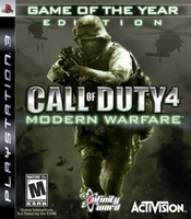Call of Duty 4: Modern Warfare - Game of the Year (PS3)
