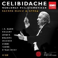 CELIBIDACHE, SERGIU - CELIBIDACHE VOLUME 4: SACRED MUSIC AND OPERA (LIMITED) (CD)