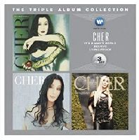 CHER - The Triple Album Collection: IT'S A MAN'S WORLD / BELIEVE / LIVING PROOF (CD)