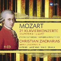 CHRISTIAN ZACHARIAS - 21 PIANO CONCERTOS AND CONCERTOS FOR TWO PIANOS, MOZART, W.A. (CD)