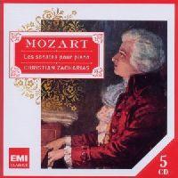 CHRISTIAN ZACHARIAS - PIANO SONATAS, MOZART, W.A. (CD)