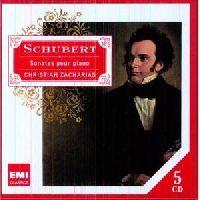 CHRISTIAN ZACHARIAS - PIANO SONATAS, SCHUBERT, F. (CD)