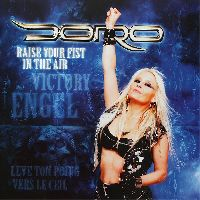DORO - Raise your fist in the air CLEAR VINYL