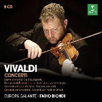 EUROPA GALANTE, FABIO BIONDI - CONCERTI, VIVALDI, A. (CD)