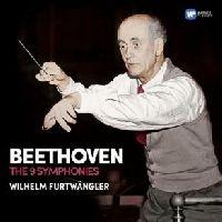 FURTWANGLER, WILHELM - THE 9 SYMPHONIES, BEETHOVEN, L. VAN (CD)