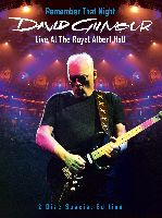GILMOUR, DAVID - REMEMBER THAT NIGHT - LIVE AT THE ROYAL ALBERT HALL (DVD)