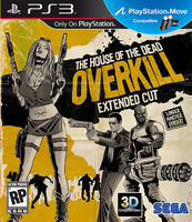 House of the Dead Overkill Extended Cut (с поддержкой PS Move) (PS3)