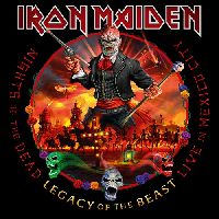 IRON MAIDEN - Nights Of The Dead - Legacy Of The Beast, Live in Mexico City (CD)