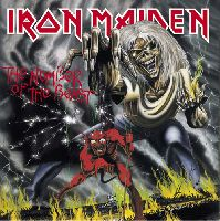 IRON MAIDEN - The Number Of The Beast (CD, Remastered)