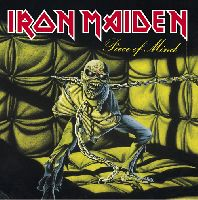 IRON MAIDEN - Piece Of Mind (CD, Remastered)