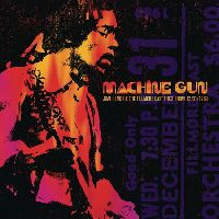 Hendrix, Jimi - Machine Gun Jimi Hendrix The Filmore East 12/31/1969 (CD)