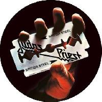 JUDAS PRIEST - British Steel (RSD 2020, Clear Vinyl with Razor Blade Image Print)
