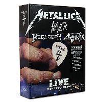 Metallica; Slayer; Megadeth; Anthrax - The Big Four: Live From Sofia Bulgaria (CD, Box)
