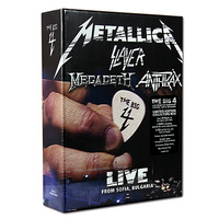 Metallica; Slayer; Megadeth; Anthrax - The Big Four: Live From Sofia Bulgaria (2DVD+5CD)