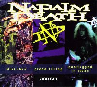 Napalm Death - Diatribes / Greed Killing / Bootlegged In Japan (CD)