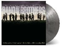 OST - Band of Brothers (Silver And Black Marbled Vinyl)
