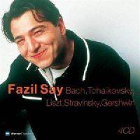 SAY,FAZIL - FAZIL SAY. BACH / TCHAIKOVSKY / LISZT / STRAVINSKY / GERSHWIN  - 4CD CAPBOX (CD)