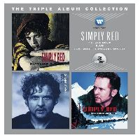 SIMPLY RED - The Triple Album Collection: PICTURE BOOK / BLUE / LOVE AND THE RUSSIAN WINTER (CD)