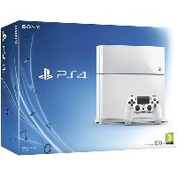Sony PlayStation 4 (500 Gb) White (CUH-1208A/B01)