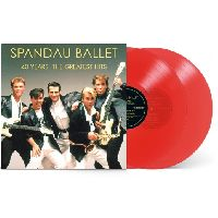 Spandau Ballet - 40 Years – The Greatest Hits (Red Vinyl)