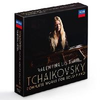 Lisitsa, Valentina - Tchaikovsky: The Complete Solo Piano Works (CD Box-Set)